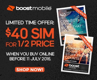Boost Special Offer = $40 with up to 11GB