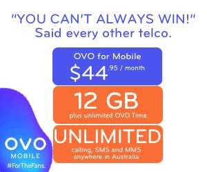 OVO Mobile Special Offer = Up to 12GB + Unlimited national calling & SMS Unlimited OVO Time