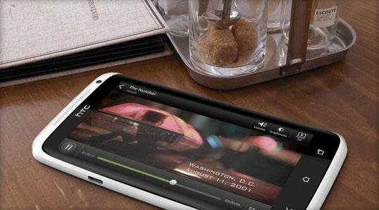 HTC One X Screen