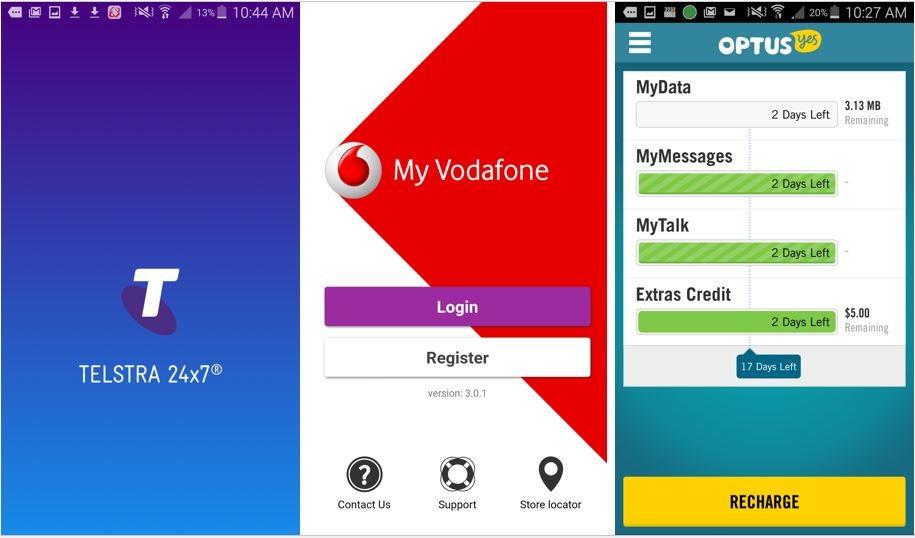 Phone Network Service App in Australia