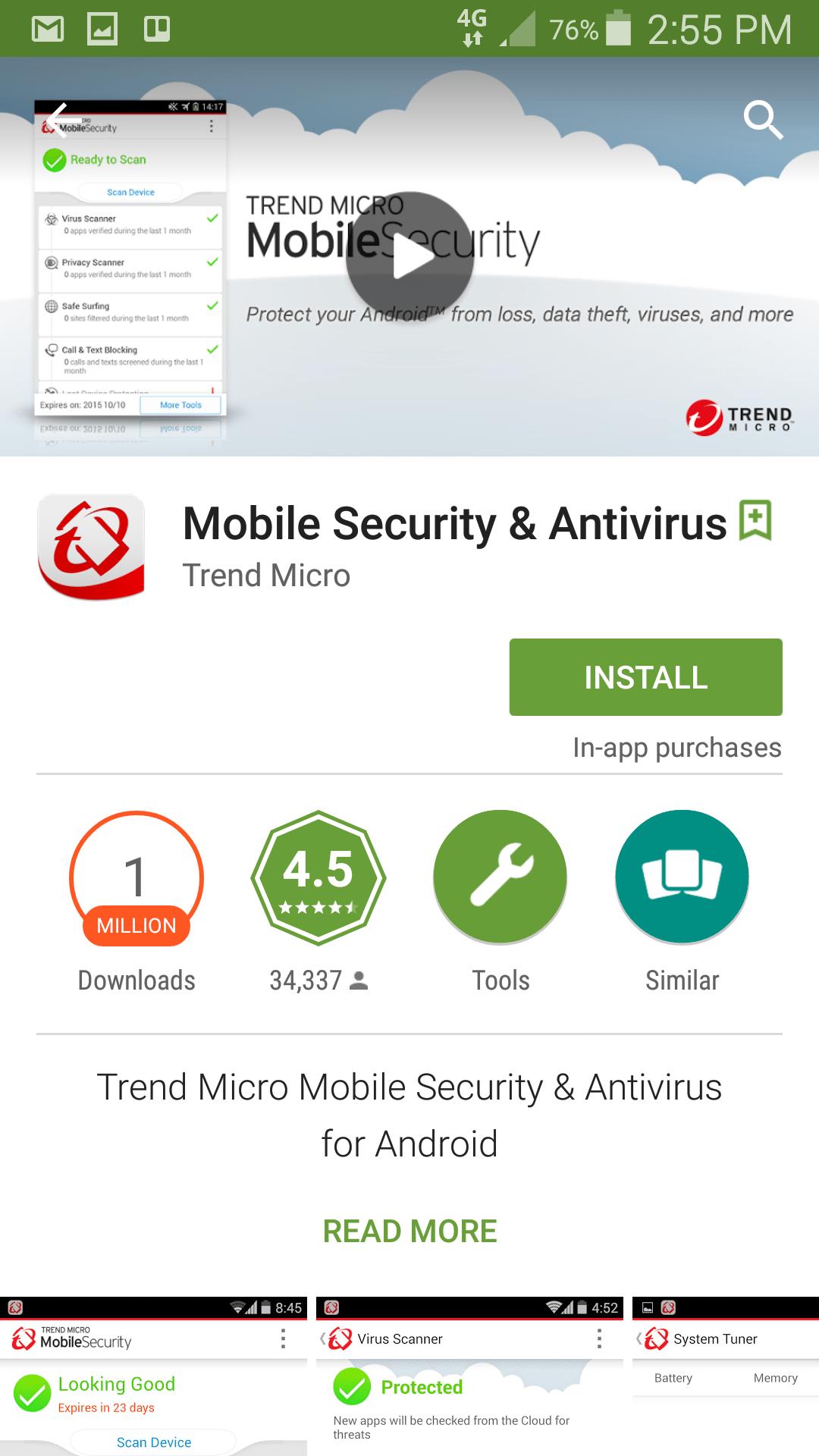 Trend Mobile Security Download App