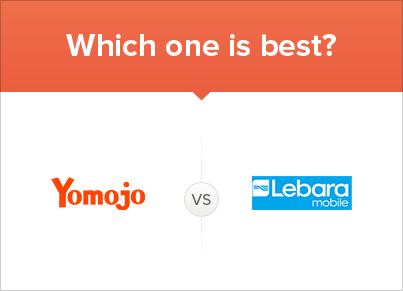 Comparing Yomojo vs Lebara