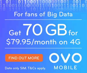 OVO Data $79.95
