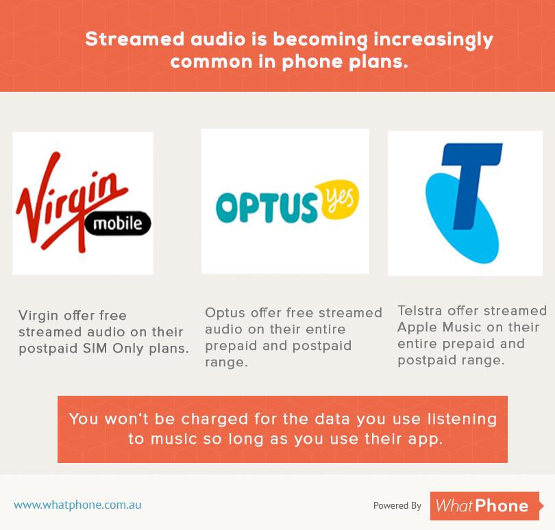 streamed audio
