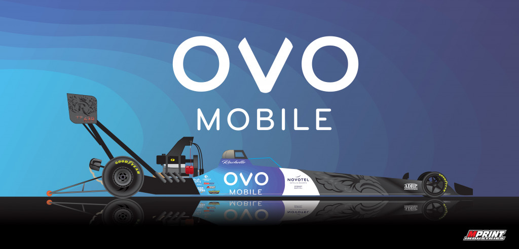 Live streaming drag racing with OVO