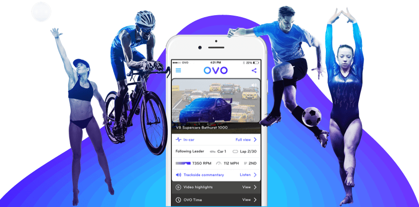 OVO Mobile sports streaming