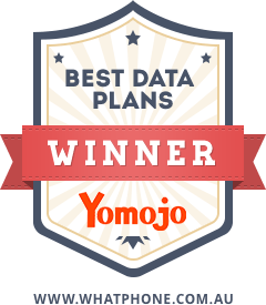 The 2017 WhatPhone Best Data Plans Award winner was Yomojo.