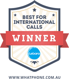 Lebara Best International Calls Award - WhatPhone 2017 awards
