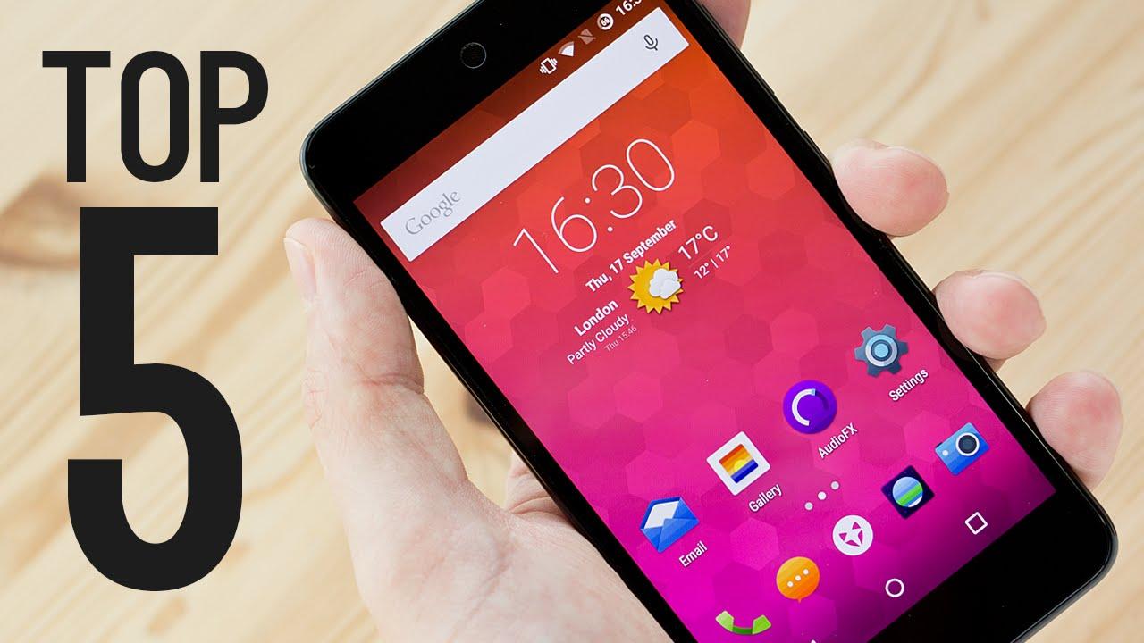 Top 5 BEST Budget Smartphones!